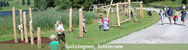 Playground at Spitzingsee in Schliersee (DE)