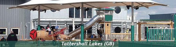 Themed playground Tattershall Lakes (GB)