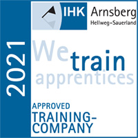 Certified by IHK Arnsberg 2021