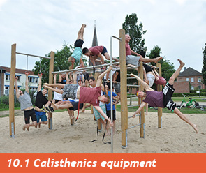 10.1 Calisthenics equipment