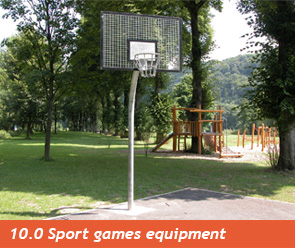 10.0 Sport games equipment
