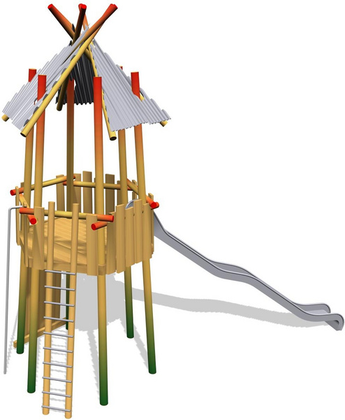 Flame Type Tower Fhs Holztechnik Gmbh