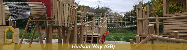 Kinderspielplatz Hudson Way (GB)