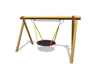 balan oire nid d 39 oiseau fhs holztechnik gmbh. Black Bedroom Furniture Sets. Home Design Ideas